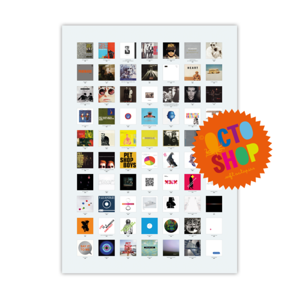 Pet Shop Boys A1 Poster