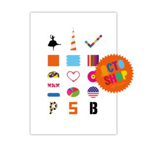 Pet Shop Boys A2 Poster